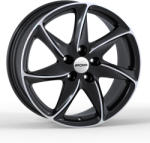 RONAL R51 Jet black-front diamond cut 5/114.3 17x8 ET40