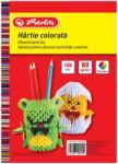 Herlitz Hartie colorata A4 asortata, 80 g/mp HERLITZ