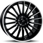 Keskin KT15 Speed Black Lip Polish 5/112 18x8 ET45