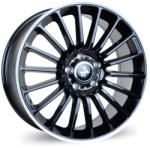 Keskin KT15 Speed Black Lip Polish 5/112 19x9.5 ET30