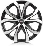 ALUTEC W10 racing-black front polished CB70.1 5/108 18x8 ET45
