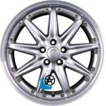 RONDELL 0083 Silver 5/100 17x8.5 ET30