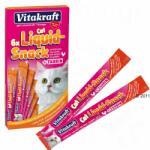 Vitakraft Cat Liquid snack csirke taurin - 6 x 15 g