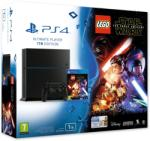 Sony PlayStation 4 Jet Black 1TB (PS4 1TB) + LEGO Star Wars The Force Awakens Конзоли за игри