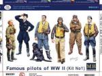 Master Box Famous Pilots of WWII kit 1 figura makett masterbox mb3201