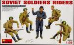 MiniArt Soviet Soldiers Riders figura makett miniart 35055