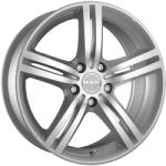 Mak Veloce Italia Silver CB67.1 5/114.3 16x6.5 ET45