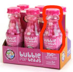 Bead Bazaar Gyöngy palack - Málna