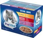 PreVital Vital Box Chicken, Beef, Rabbit & Turkey 12x100g