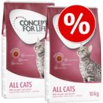 Concept for Life All Cats 10+ 2x3kg