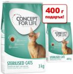 Concept for Life Indoor Cats 3,4kg