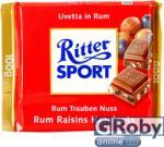 Ritter SPORT Rum Raisins Hazelnuts (100g)