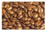 APe Pörkölt kávé Santos 100% arabica 1000g, Zrnková káva
