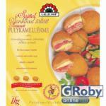 GALLICOOP Panírozott sajttal sonkával töltött pulykamellérme 1kg