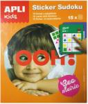 Apli Kids Mini játékok Sudoku matricázó sárga Apli Kids (APLI14587)