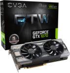 EVGA GeForce GTX 1070 FTW GAMING ACX 3.0 8GB GDDR5 256bit PCIe (08G-P4-6276-KR) Videokártya