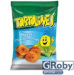 Tortolines Édes zöldbanán chips 100g