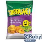 Tortolines Thai zöldbanán chips 100g