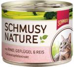 Schmusy Nature Beef & Poultry 190g