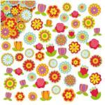 Baker Ross Autocolante flori neopren - Baker Ross (BKET836)
