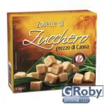 Zollette di Zucchero Barna Nád Kockacukor 1kg