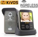 KIVOS Videointerfon wireless KIVOS KDB301 cu senzor de prezenta