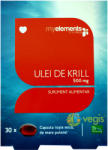 MyElements Ulei de Krill Omega 3 500mg - 30 comprimate