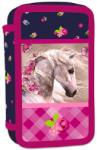 Karton P+P Romantic Horse lovas, három emeletes (3-465)