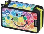 Herlitz SmileyWorld Rainbow 3 emeletes, töltött tolltartó, 31 részes