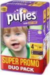 pufies Pachet promo 2x Scutece Pufies Baby Art 4 Maxi Jumbo Pack 64 buc (3800024028533)