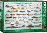 EUROGRAPHICS World War I Aircraft 1000 db-os (6000-0087)
