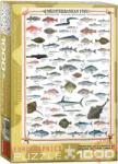 EUROGRAPHICS Mediterranean Fish 1000 db-os (6000-0315)