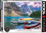 EUROGRAPHICS Canoes on the Lake 1000 db-os (6000-0693)