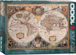 EUROGRAPHICS Antique World Map 1000 db-os (6000-1997)