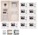 AIPHONE Kit Videointerfon Cu 10 Posturi De Interior Aiphone Gtv10f (gtv10f)