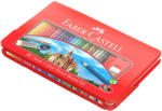 Faber-Castell Creioane colorate 48 culori/set FABER-CASTELL cutie metal