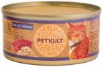 PETKULT Tuna & Calamary Tin 4x80g