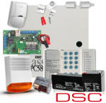 DSC Sistem Alarma Antiefractie Dsc Power Pc 585 + Comunicator Multicomm Ip/gprs (kit 585 Ext + Comunicator Gprs)