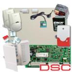 DSC Sistem Alarma Antiefractie Dsc Pc1616 Int Seka Sms Gsm (kit 1616-int+seka Sms)