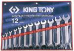 KING TONY Villáskulcs készlet 12db 6-32mm (1112MR)