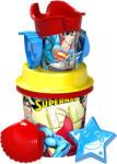 Dema Stil Superman közepes homokozó készlet, 7 részes (ADEM-WB-1807-S)