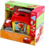 Playgo Csörgő tűzoltóautó zenélő indítóállomással - tulli