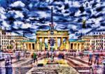 Schmidt Spiele Michael von Hassel: Branderburger Tor, Berlin 1000 db-os (59332)