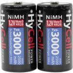 HyCell Góliát akkukészlet, 2db NiMH Mono, (D), HR20, 3000 mAh 1.2 V HyCell 5035312
