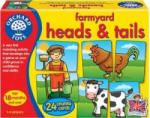 Orchard Toys Jucarie educativa Orchard Toys Farmyard Heads and Tails