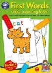 Orchard Toys Jucarie educativa Orchard Toys First Words Sticker Colouring Book