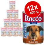 Rocco Classic - Beef & Poultry Hearts 12x400g