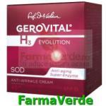 Farmec-gerovital-aslavital Crema antirid intens hidratanta cu FP15 Gerovital H3 Evolution