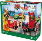 BRIO Sürgősségi tűzoltó deluxe szett 33817 Brio (33817)