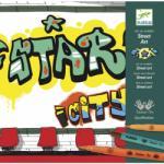 Djeco Design by Utcai rajzok - kreatív készlet